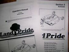 Land Pride Rcr2584 Rotary Cutter Parts Amp Operator Manuals