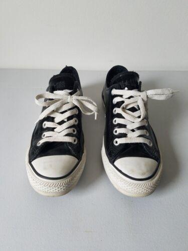 Converse Black Patent Leather Chucks