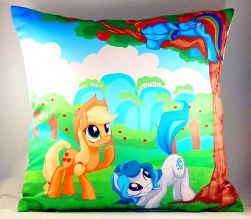 My Little Pony Apple Jack Rainbow Dash Pillow/Cushion 40x40cm/16x16 UK Stock