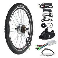Electric Bicycle Conversion Kit 250w 36v E Bike Motor Speed Brake 26 Rear Wheel