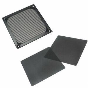 Black-Wire-PC-Fan-Cooling-Mesh-Dustproof-Dust-Filter-Case-Cover-120mm-X-120mm