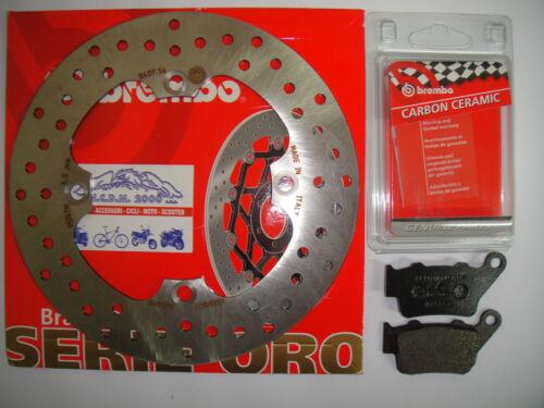 DISCO FRENO BREMBO PASTIGLIE POSTERIORI HUSQVARNA WR 250 2000 2001 2002  754