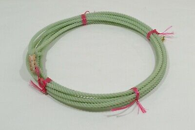 """5//16/"""" x 20/' Green Rope E458 Kid/'s Waxed Nylon"""