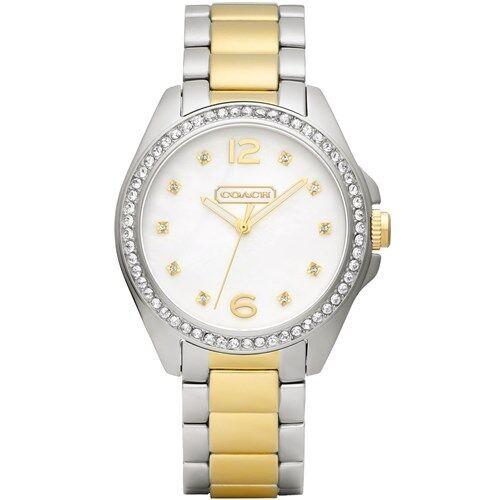 Coach 14501659 Tristen Women's Two-Tone Stainless Steel Bracelet Watch