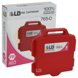 LD-765-0-Fluorescent-Red-Ink-Cartridge-for-Pitney-Bowes-Printer