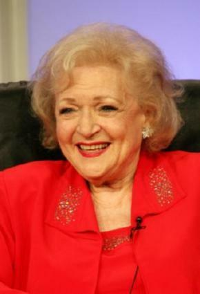 Betty White Poster 24in x 36in