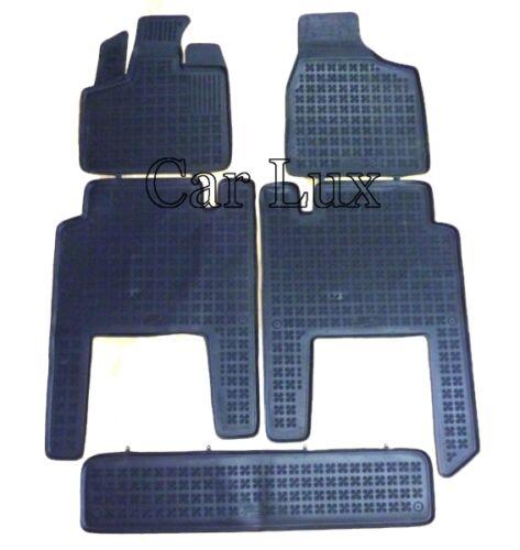 Alfombrillas de goma a medida LANCIA Voyager desde 2011 tipo cubeta tapis sol 3D