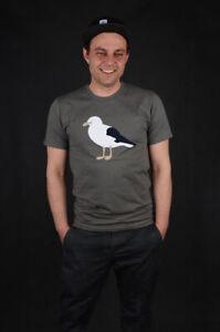 CLEPTOMANICX-Gull-3-Heather-Dusty-Oliva-T-shirt