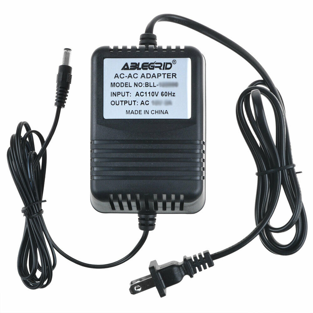 AC Adapter For Vestax AC-14 DJ Mixer Transformer Power Supply Cord Charger
