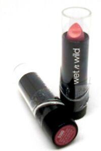 Détails sur 2 Wet N Wild Soie Finition Lèvres Couleur Foncé Rose Gel 530D Nouveau & Scellé