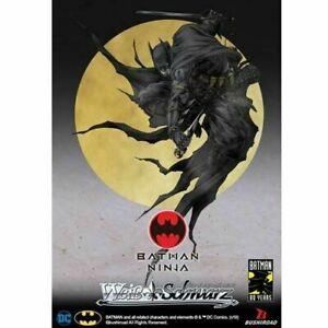 New Weiss Schwarz Batman Ninja Booster Box Factory Sealed English Edition