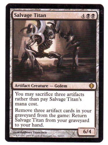 MTG Shards of Alara Rare Salvage Titan