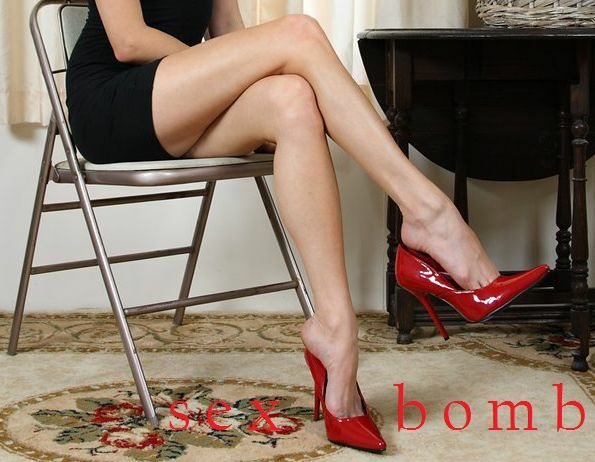 SEXY scarpe dal decolte rosse TACCO 11,5 dal scarpe 35 al 44 Fashion GLAMOUR 6b4f80