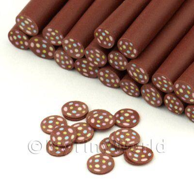 3x Triple Schokolade Twist Kunst Zuckerstangen 09nc11