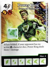 Green Arrow Flash POWER RING Curse of Volthoom #68 DC Dice Masters card