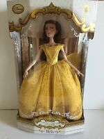Disney Store Belle Limited Edition Doll Live Action Film 17'' With Box