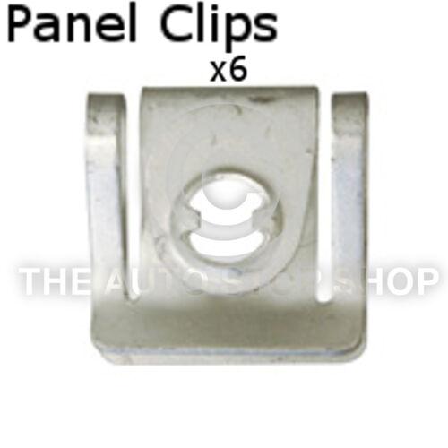 Panel Clips Cowling Audi Range A4 Allroad//A5//A6  etc Part 11074au Pack of 6