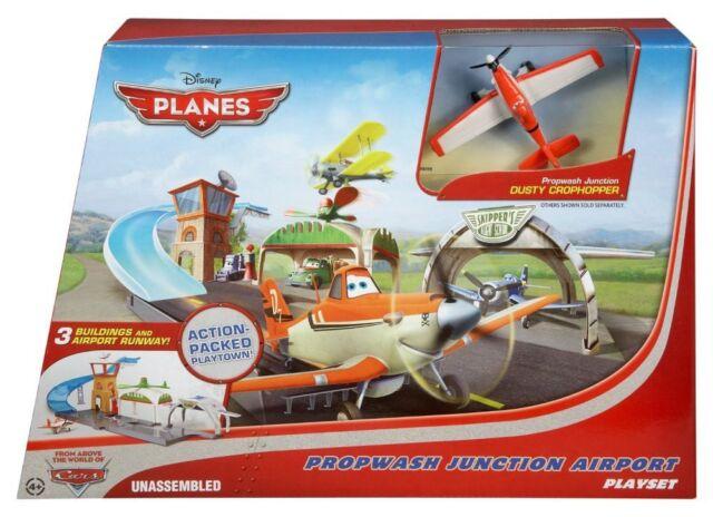 Disney Planes Propwash Junction Airport Play Set