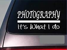Photography sticker decal *E314* camera picture photographer lighting film lens