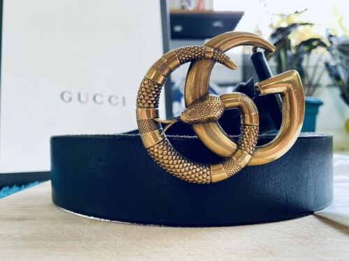 gucci snake belt.