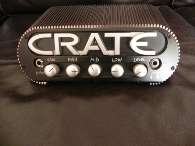Guitarforstærker, crate powerblock, 150 W, 150w 8ohm ell.…