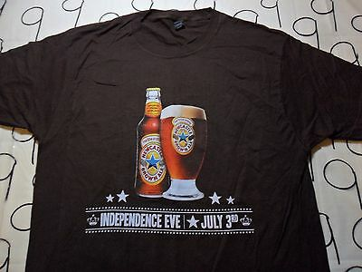 Large Nwot Newcastle Brown Ale Front And Back Print T Shirt Ebay
