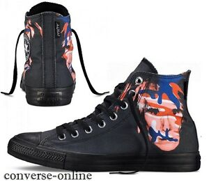 Baskets Warhol Taille 3 Star Noires Montantes All Femmes Hommes Uk Andy Converse qxXYnFw4