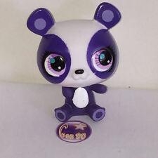 Littlest PetShop PANDA BLANC ET VIOLET ASSIS 1695 M35 Pet Shop