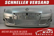 Renault Scenic 3 III Bj 2009-2012 Stoßstange Vorne Silber Original Versand N3780