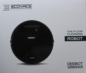 ECOVACS Deebot Ozmo 930 Saugroboter Schwarz *NEU+OVP* OZMO 930