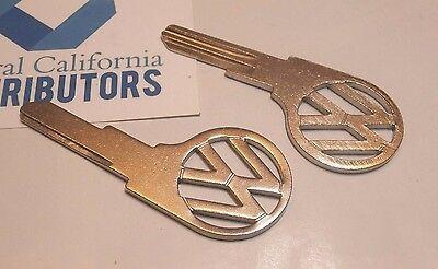 "QTY1 111837219ASC VW Bug Beetle Volkswagen key blank  /""SC/"" profile 1961-1966"