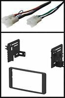 Double Din Stereo Kit Combo For Select 2003 2004 2005-2007 Toyota Tundra Sequoia