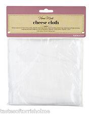 Kitchen Craft Nuevo 100% algodón tejido Pelusa queso Paño 1,8 M