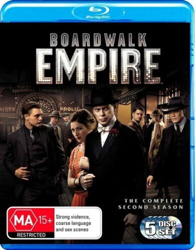 1 of 1 - Boardwalk Empire - The Complete Second Season [Blu-ray] Brand New Free Postage