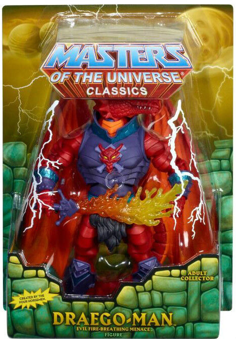 MASTERS OF THE UNIVERSE Classics_DRAEGO-MAN figure_Exclusive Limited Edition_MIB