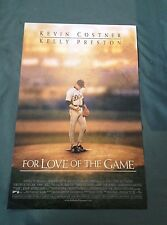 "For The Love of The Game 11"" X 17"" Movie Poster Kevin Costner Kelly Preston"