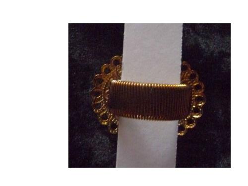 Tuchhalter Schalhalter Tuchbrosche Metall gold farben Federzug Scarf  Stein rund
