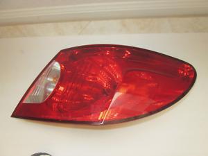 Chrysler Sebring Tail Light Assembly Fits 2006 2008 Sedan