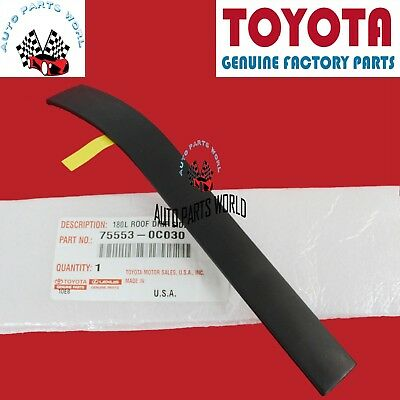 New Genuine Toyota Tundra Rear Right Roof Drip Side Finish