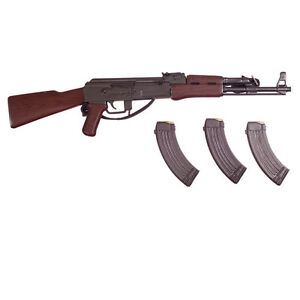 AK-47 Rifle w// 3 Clips 1//6 Scale NAM Oscar Dragon Action Figures