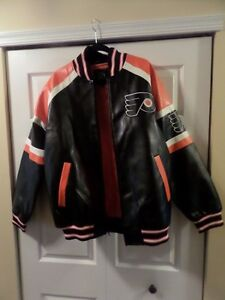 Philadelphia Flyers NHL Officially Licensed Product Men's Jacket Size L XL XXL