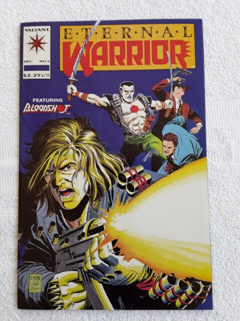 Eternal Warrior #5 (Dec 1992, Acclaim / Valiant) 2nd Blood Shot App VF
