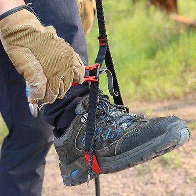 Outdoor Rescue Rock Climbing Caving Adjustable Foot Loop Sling Ascender