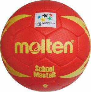 Molten schoolmaster handball Olympia rouge/jaune taille 3
