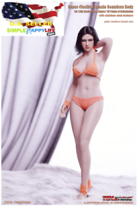 PHICEN TBLeague 1//6 Buxom Women S28A Seamless female plump Body PALE ❶USA❶