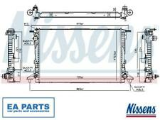engine cooling Nissens 62924A Radiator