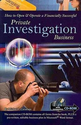 How to Open & Operate a Financially Successful Private Investigation Business [W