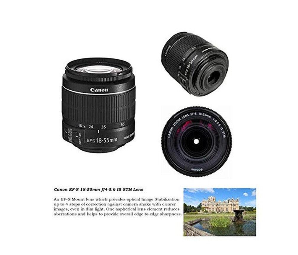 Canon EF-S 18-55mm f//3.5-5.6 Lente Caja Blanca DC III