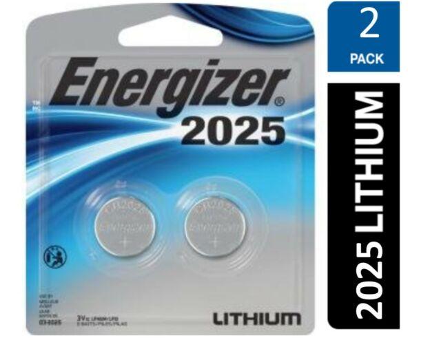 ECR2025 DL2025 Energizer 2025 Litio 3 V CR2025