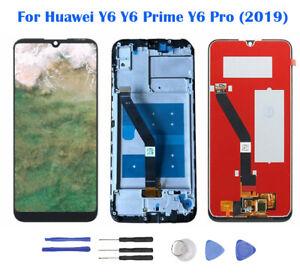 ECRAN-LCD-VITRE-TACTILE-FRAME-pour-Huawei-Y6-Y6-Prime-Y6-Pro-2019-AR02FR